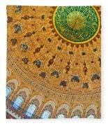 Suleiman Mosque Interior 08 Fleece Blanket