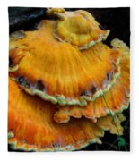 Sulphur Shelf  Fleece Blanket