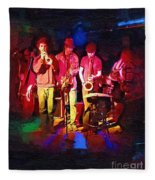 Sultans Of Swing Fleece Blanket