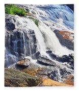 Summer At The Falls Fleece Blanket