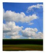 Summer Blur Fleece Blanket
