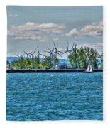 Summer Breeze From Lasalle Park Fleece Blanket