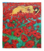 Summer Dream 2 Fleece Blanket
