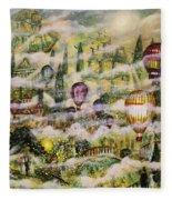 Summer Eden Fleece Blanket