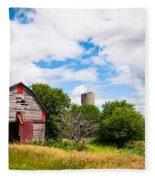 Summer Farm Fleece Blanket
