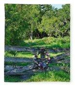 Summer Gate Fleece Blanket