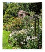 Summer House Fleece Blanket