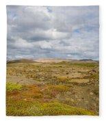 Summer In Iceland Fleece Blanket