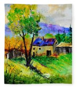 Summer Landscape 316062 Fleece Blanket
