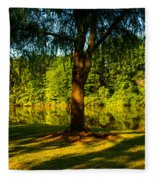 Summer Light Fleece Blanket