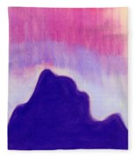 Summer Midnight Fleece Blanket