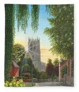 Summer Morning St. Mary Fleece Blanket