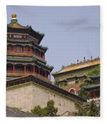 Summer Palace, Beijing Fleece Blanket