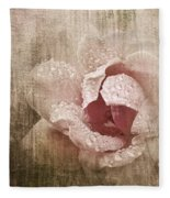 Summer Rose #1 Fleece Blanket