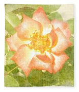 Summer Rose Fleece Blanket