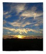 Summer Sets Fleece Blanket