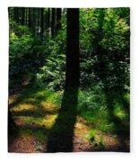 Summer Shade Fleece Blanket