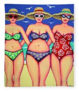 Summer Sisters - Beach Fleece Blanket