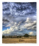 Summer Sky Farm Fleece Blanket