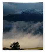 Summer Snow Fleece Blanket