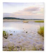 Summer Sunrise At Little Neck Fleece Blanket