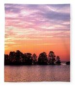 Summer Sunrise  Fleece Blanket