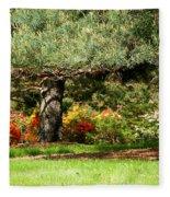 Summer Tales Fleece Blanket