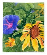 Summer Tango Fleece Blanket
