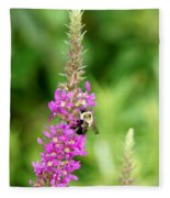 Summer Time And The Feeding Is Easy Fleece Blanket