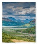 Summer Valley Fleece Blanket