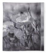 Summer Whispers Collage Fleece Blanket