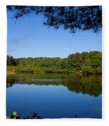 Summers Blue View Fleece Blanket