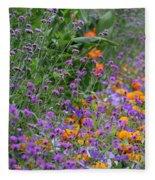 Summer's Colors Fleece Blanket
