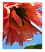 Summer's End Dahlia Fleece Blanket