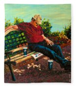 Summertime Siesta Fleece Blanket