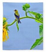 Summertime Songs Fleece Blanket