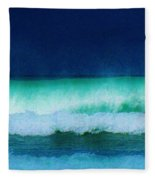 Summertime Surf Fleece Blanket