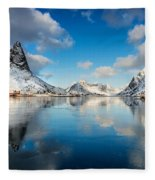 Sun And Ice Reinefjord Fleece Blanket