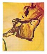 Sun Bath By Jrr Fleece Blanket