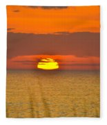 Sun Delight  Fleece Blanket