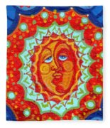Sun God Fleece Blanket