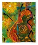 Sun Goddess Fleece Blanket