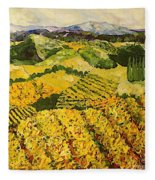 Sun Harvest Fleece Blanket