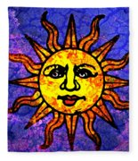 Sun Salutation Fleece Blanket
