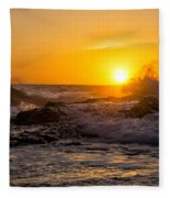 Sun Splash Fleece Blanket