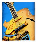 Sun Studio Guitar Fleece Blanket
