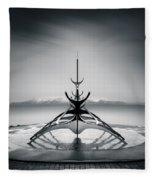 Sun Voyager Fleece Blanket