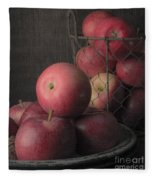 Sun Warmed Apples Still Life Standard Sizes Fleece Blanket