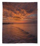 Sunday Daybreak Fleece Blanket