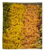 Sunday Market Fleece Blanket